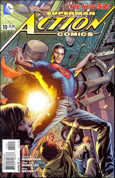 Action Comics (2011) 10-D by DC