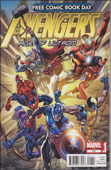Free Comic Book Day 2012 (Avengers: Age of Ultron Point One) 0.1-A by Marvel