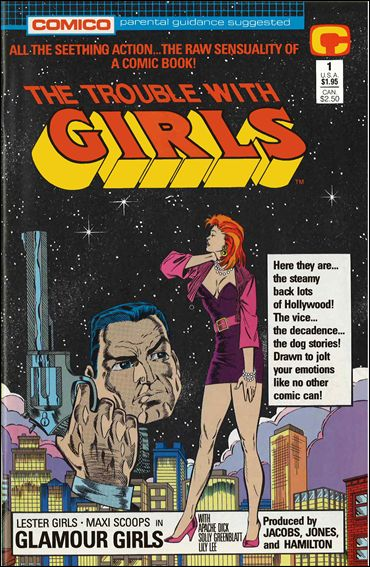 Trouble with Girls (1989) 1-A by Comico