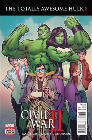 Totally Awesome Hulk 8-A