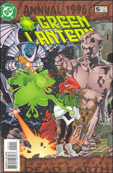 Green Lantern Annual (1992) 5-A by DC