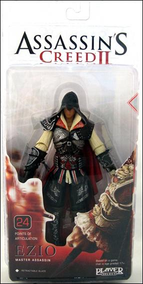 Assassin's Creed II Ezio (Black Outfit) by NECA