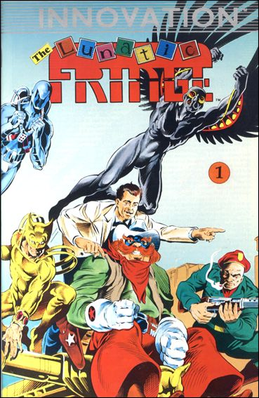Lunatic Fringe (1989) 1-A by Innovation