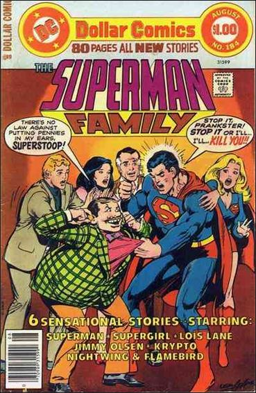 Superman Family 184-A by DC