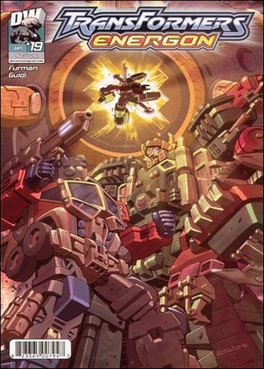 Transformers: Energon (2004) 19-A by Dreamwave