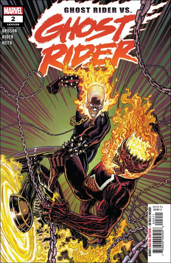 Ghost Rider (2019) 2-A by Marvel
