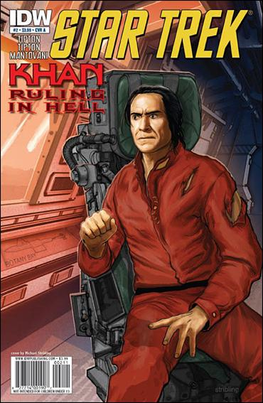 Star Trek: Khan Ruling in Hell  2-A by IDW