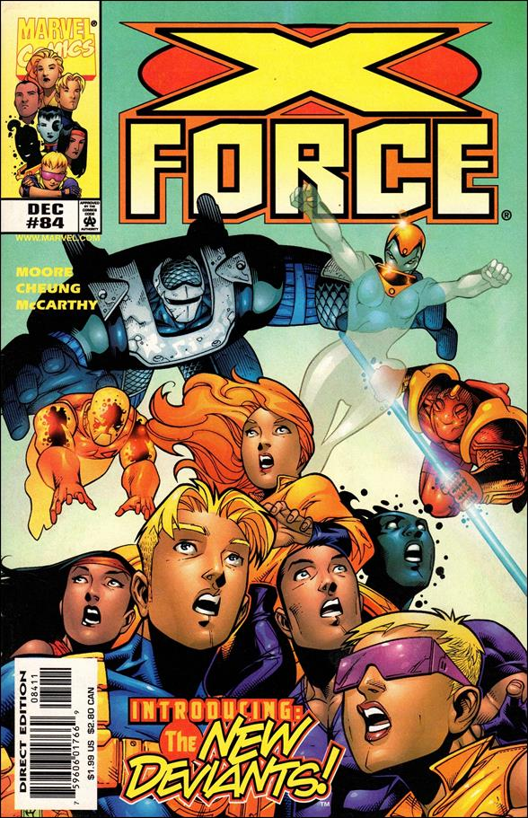 X-Force (1991) 84-A by Marvel
