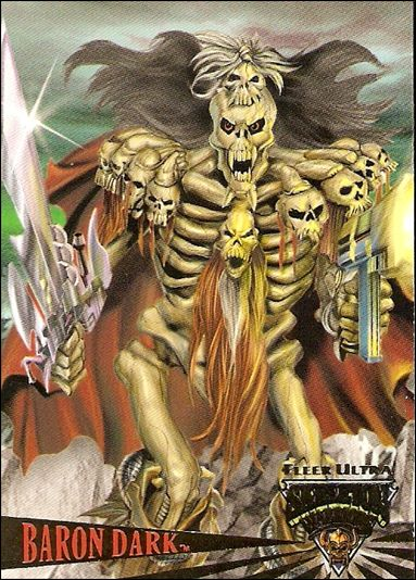 Fleer Ultra Skeleton Warriors (Promo) Baron Dark-A by Fleer