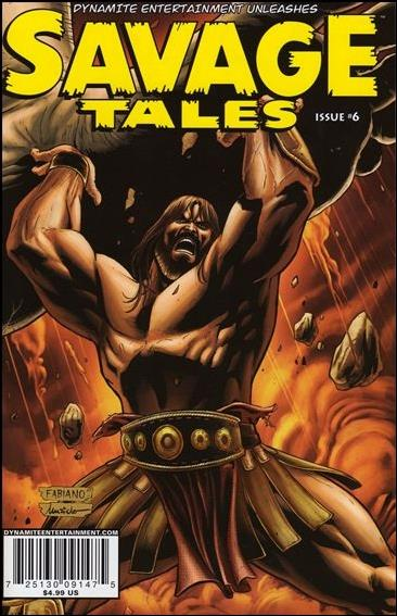 Savage Tales (2007) 6-B by Dynamite Entertainment