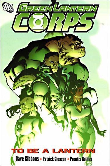 Green Lantern Corps: To Be a Lantern 1-A by DC