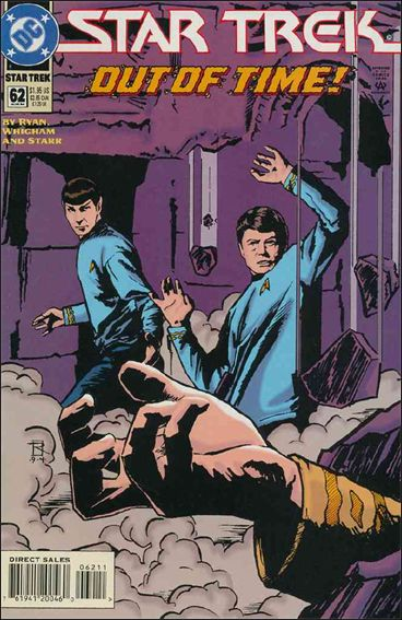 Star Trek (1989) 62-A by DC