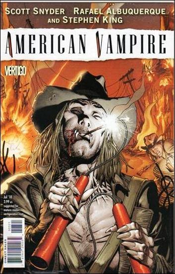 American Vampire 3-B by Vertigo