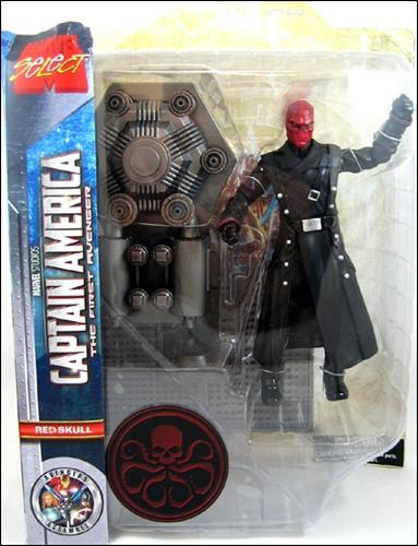 Marvel Select Red Skull (The First Avenger) by Diamond Select