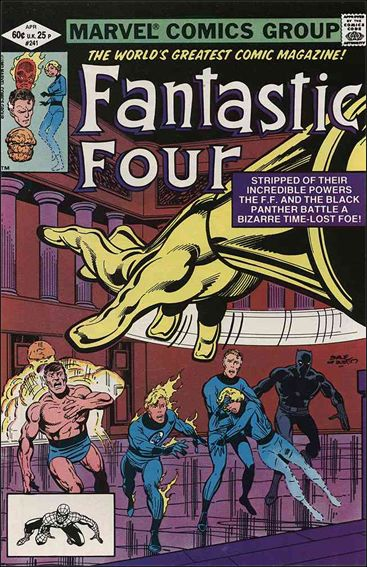Fantastic Four (1961) 241-A by Marvel