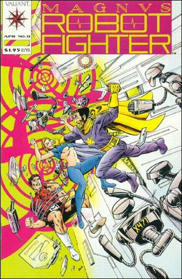 Magnus Robot Fighter (1991) 11-A by Valiant
