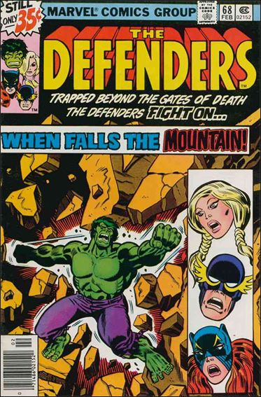 Defenders (1972) 68-A by Marvel