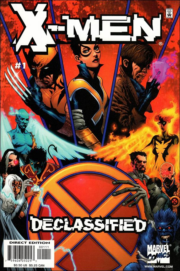 X-Men: Declassified 1-A by Marvel