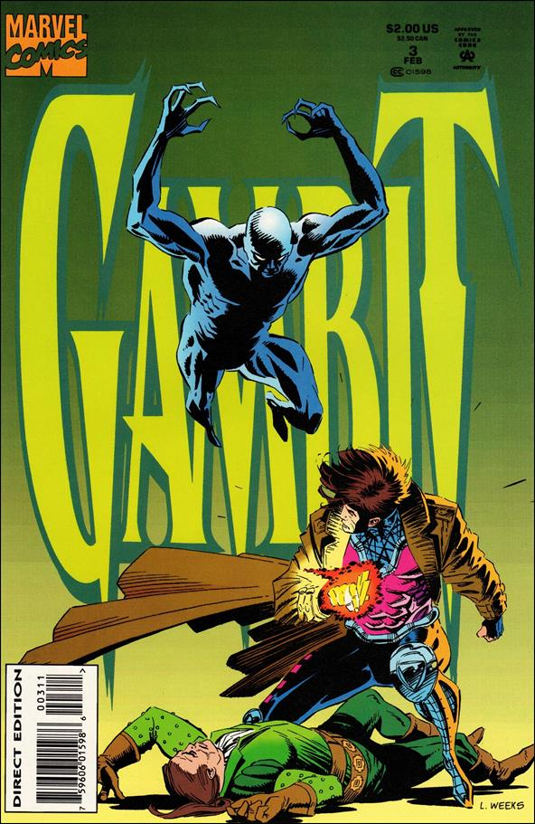Gambit (1993) 3-A by Marvel