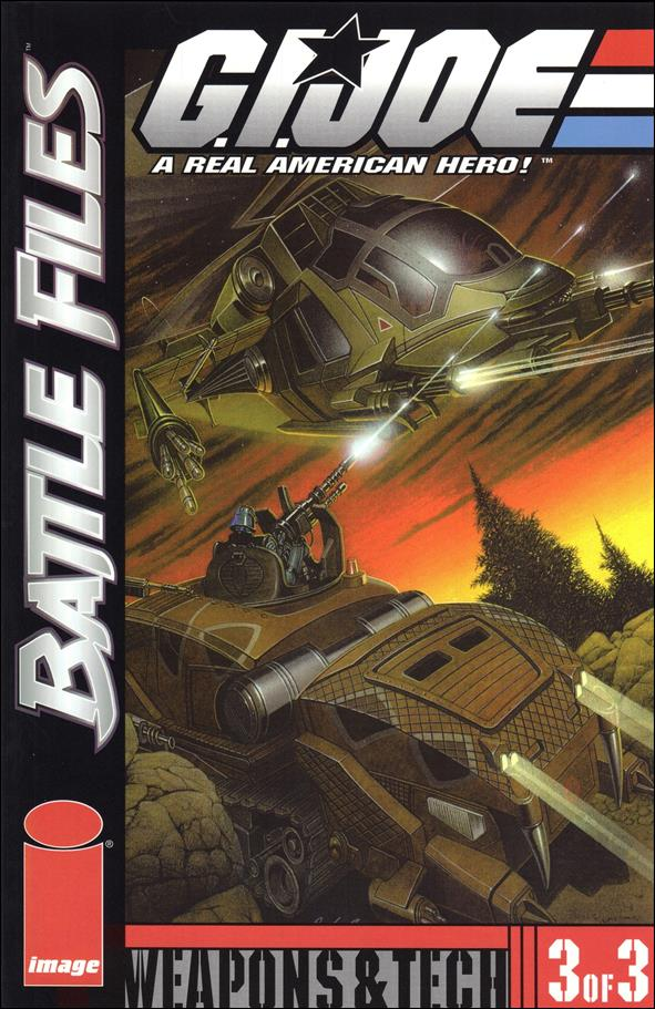 G.I. Joe: Battle Files 3-A by Image