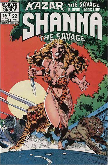 Ka-Zar the Savage 22-A by Marvel