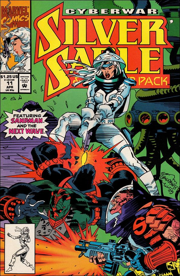 Silver Sable & The Wild Pack 11-A by Marvel