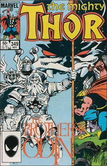 Thor (1966) 349-A by Marvel