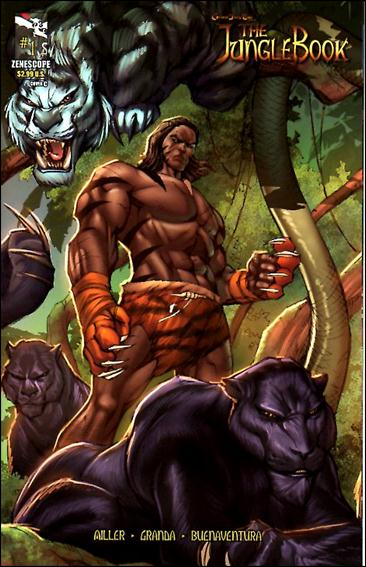 Grimm Fairy Tales Presents The Jungle Book 1-C by Zenescope Entertainment