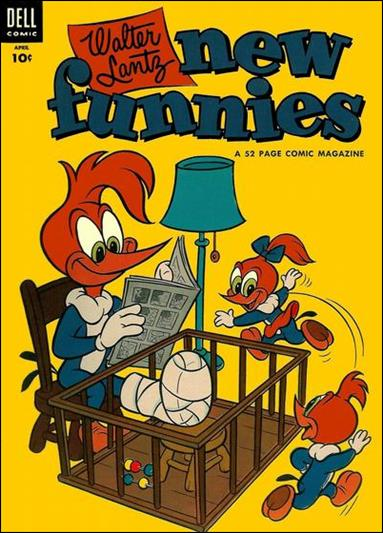 Walter Lantz New Funnies 206-A by Dell
