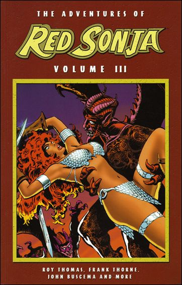 Adventures of Red Sonja 3-A by Dynamite Entertainment