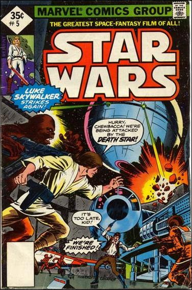 Star Wars (1977) 5-E by Marvel