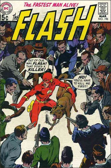 Flash (1959) 195-A by DC