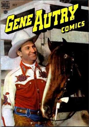 Gene Autry Comics (1946) 17-A