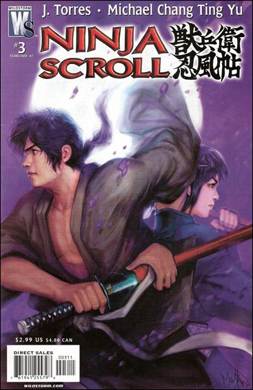 Ninja Scroll 3-A by WildStorm