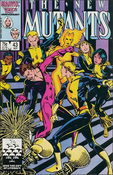 New Mutants (1983) 43-A by Marvel