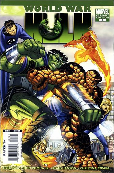 World War Hulk 2-B by Marvel
