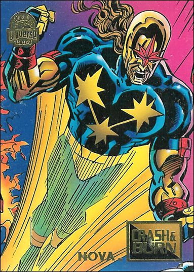 Marvel Universe: Series 5 (Base Set) 74-A by Fleer