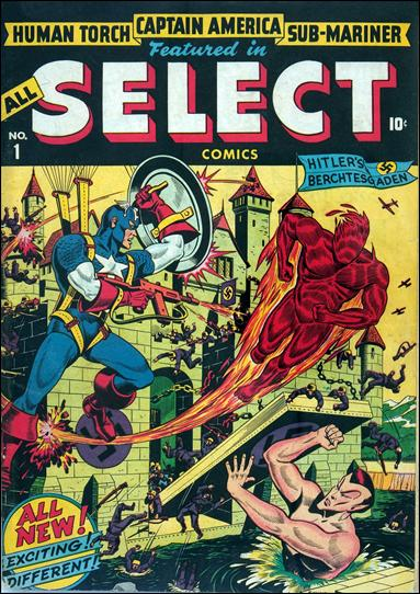 All-Select Comics 1-A by Marvel