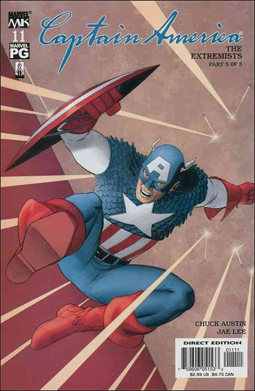 Captain America (2002) 11-A by Marvel