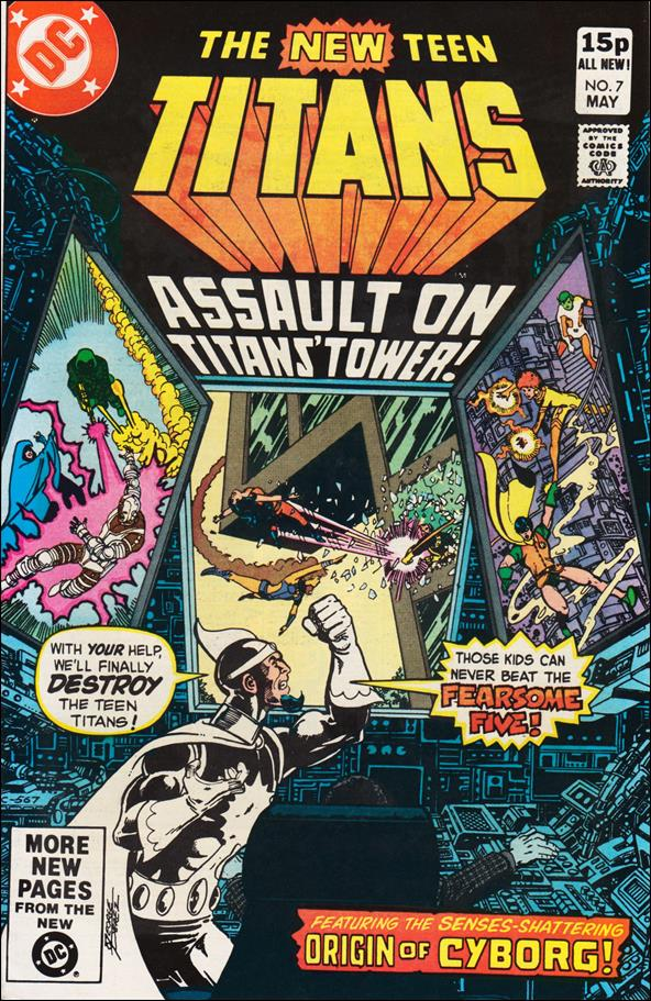 New Teen Titans (1980) 7-B by DC