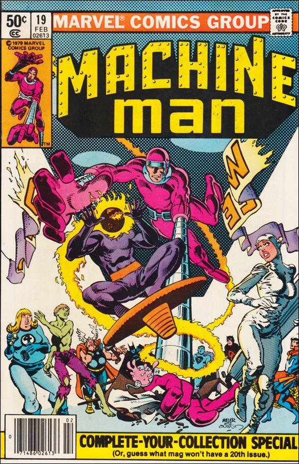 Machine Man (1978) 19-A by Marvel