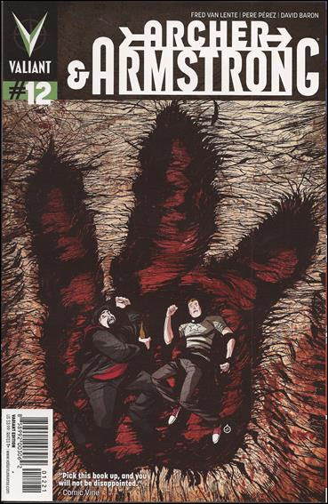 Archer & Armstrong (2012) 12-B by Valiant Entertainment