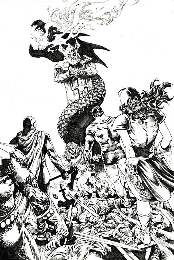Red Sonja: The Superpowers 1-Q by Dynamite Entertainment