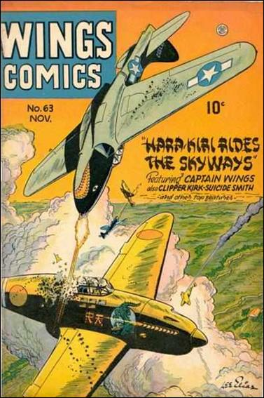 Wings Comics (1940) 63-A by Fiction House Magazines