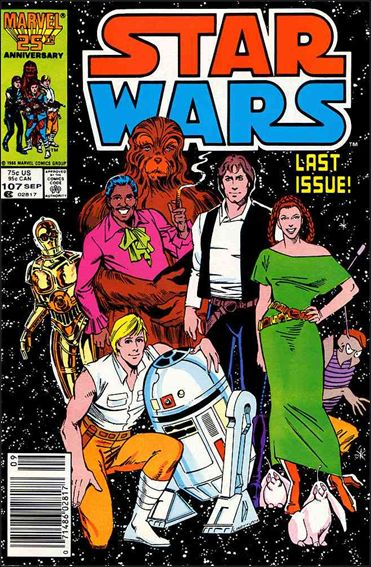 Star Wars (1977) 107-A by Marvel