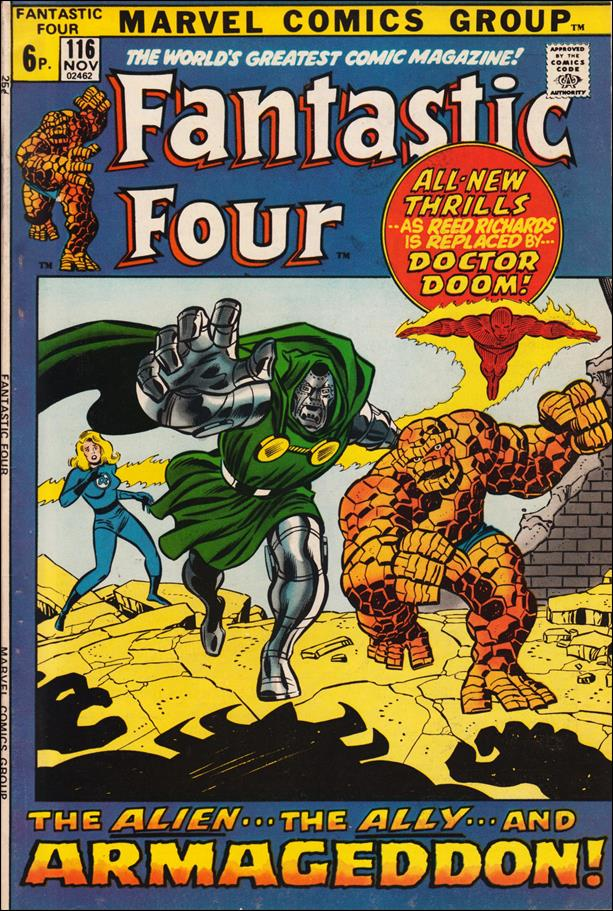 Fantastic Four (1961) 116-B by Marvel