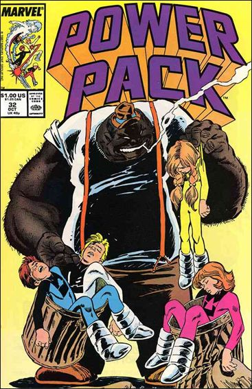Power Pack (1984) 32-A by Marvel