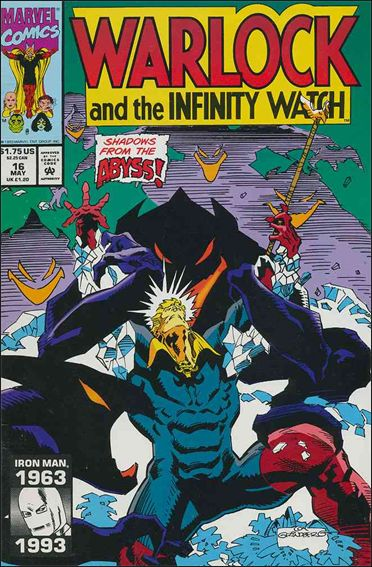 Warlock and the Infinity Watch 16-A by Marvel