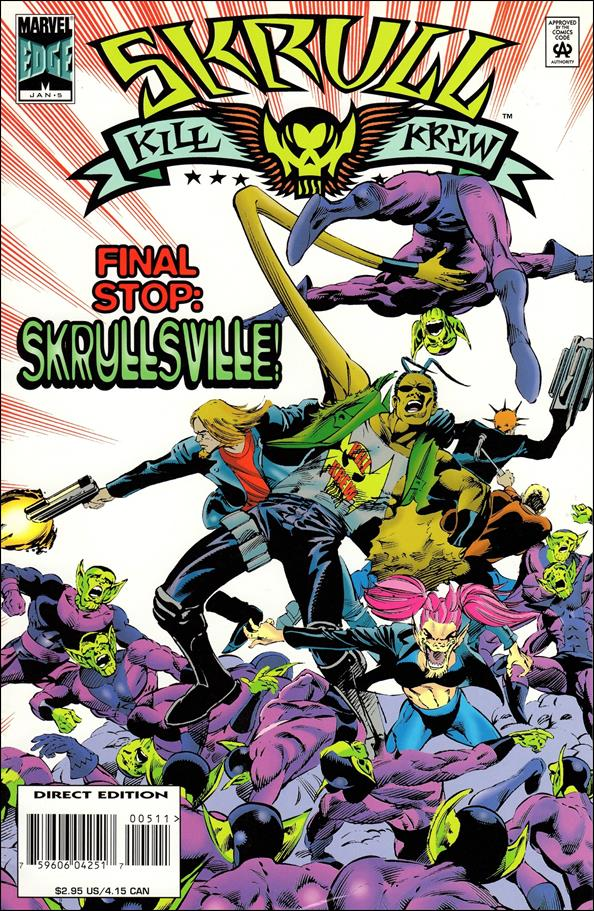 Skrull Kill Krew (1995) 5-A by Marvel
