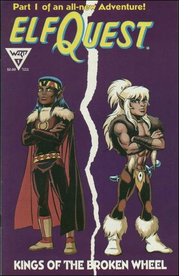 Elfquest: Kings of the Broken Wheel 1-A by Warp Graphics